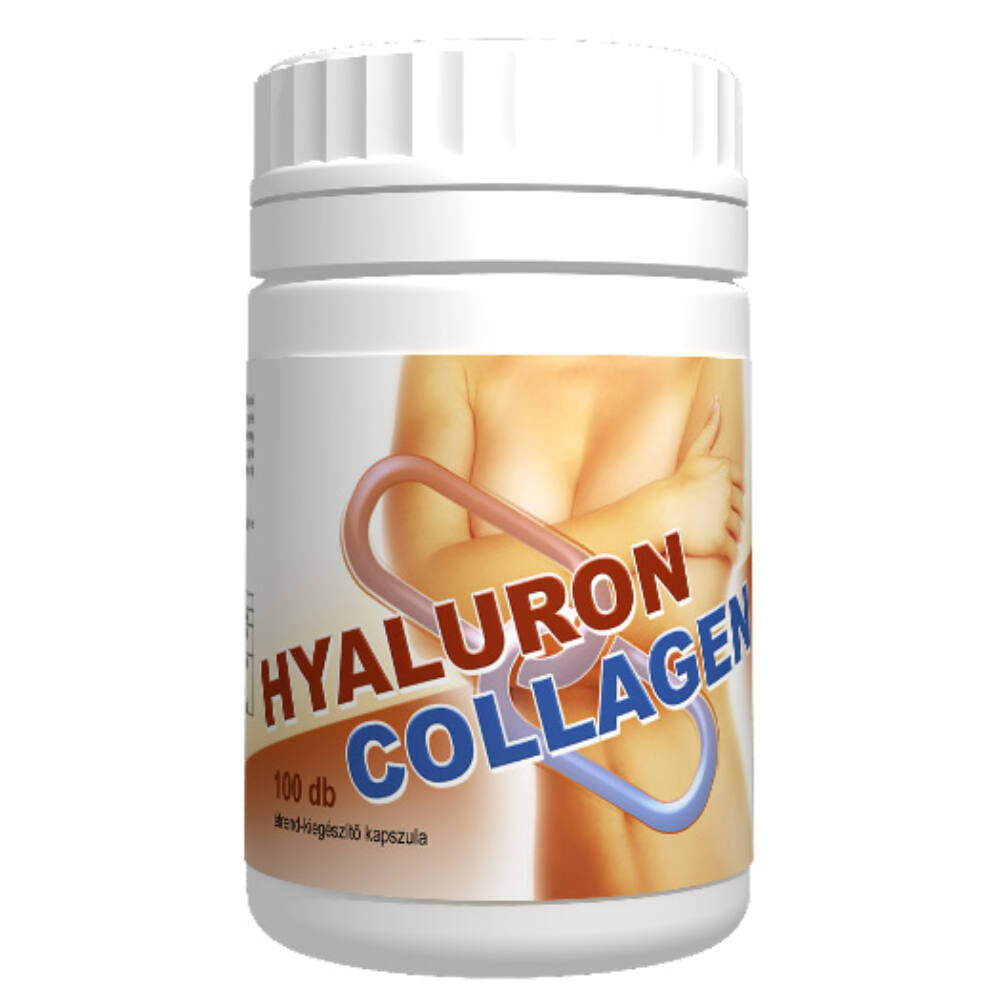Hyaluron + collagen kapszula 100db