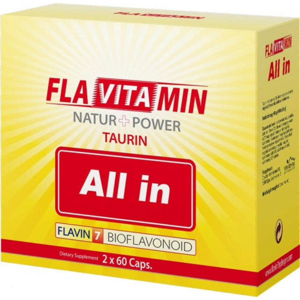 Flavitamin All In kapszula 2x60db