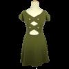 Kép 2/2 - TALLY WEIJL zöld ruha (XS/34)