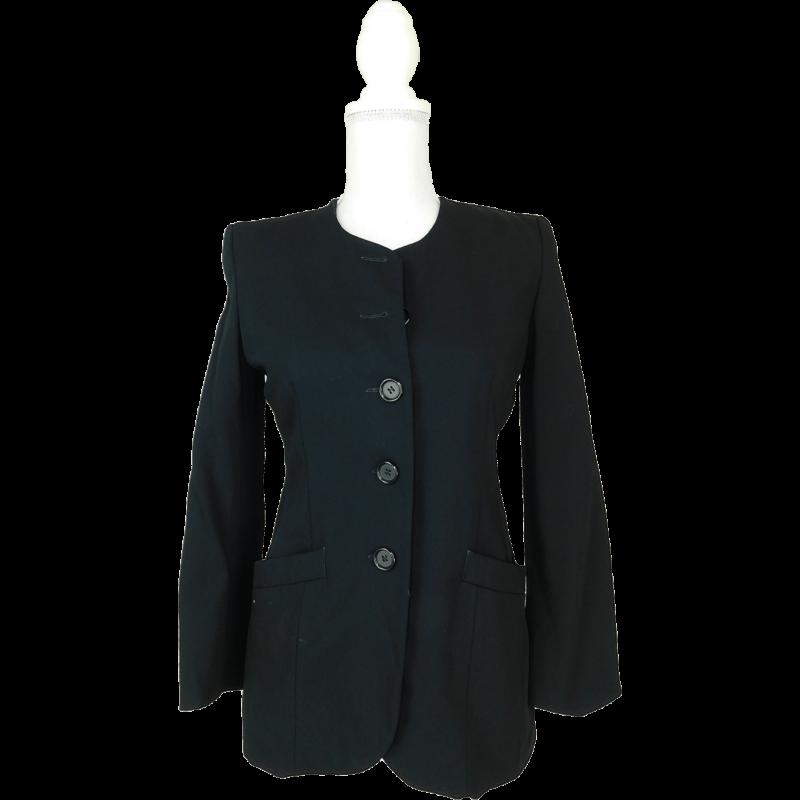 MARKS&SPENCER fekete kabátka (S/36)